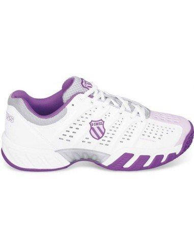 K-Swiss Junior Big Shot Light Omni White/Purple