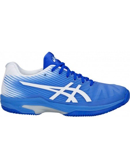 Asics gel Solution Speed FF Clay Blue/White