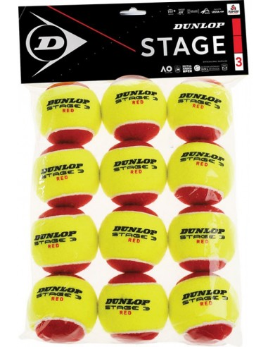 Dunlop stage 3 Rood 12pcs
