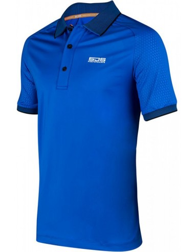 Sjeng Sports Men Polo Alwin Blue