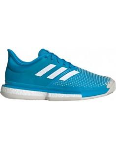 Adidas SoleCourt Boost Clay/Padel Men Blue