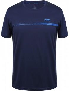 Li-Ning Shirt Mart Dark Blue