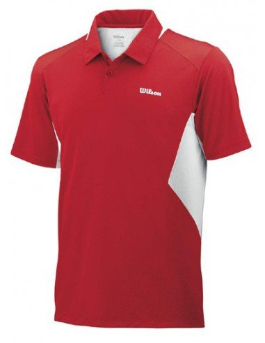 Wilson Great Get Polo Wilson Red