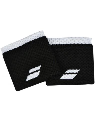 Babolat Logo Wristband Black/White