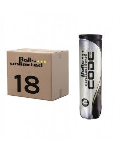 Balls Unlimited Code Black (Doos 18x 4-pack)