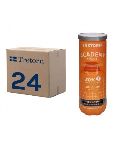 Tretorn Academy Stage 2 (Doos 24x 3-pack)