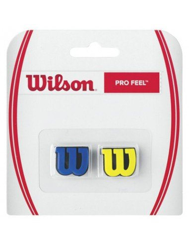 Wilson Pro Feel Blauw/Geel