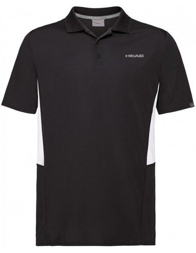 Head Club Tech M Polo Shirt Black
