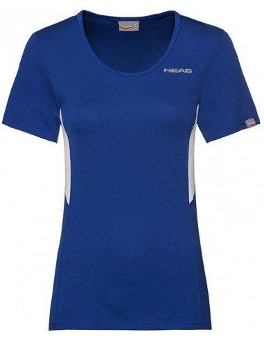 Head Club Tech W T-Shirt New Blue