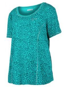 Alisa Plus SS Lady Shirt Green