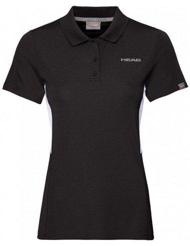 Head Club Tech Polo Shirt W Black