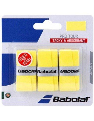Babolat Pro Tour X3 Yellow