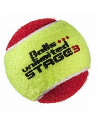 Unlimited Balls Stage 3 Yellow/Red 12 stuks