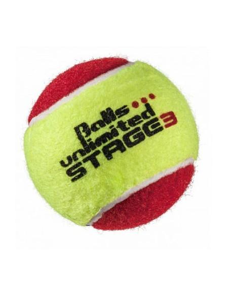 Unlimited Balls Stage 3 Yellow/Red 60 stuks
