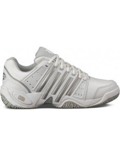 K-Swiss Accomplish ll Leather Zilver/Wit