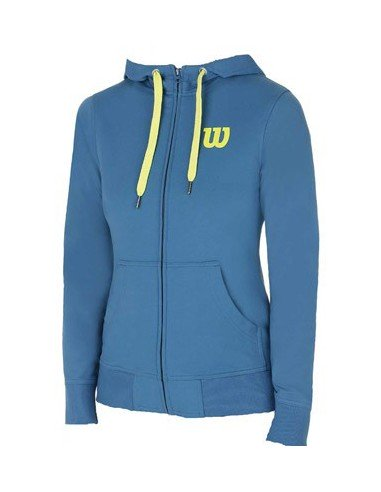 Wilson Full Zip Hoody Ultramarine