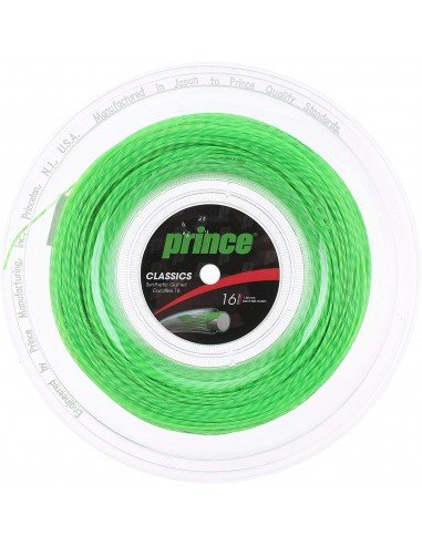 Prince Synthetic Gut Duraflex Lime Green Coil