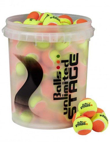 Unlimited Balls Stage 2 Orange /Yellow Bucket (60 stuks)