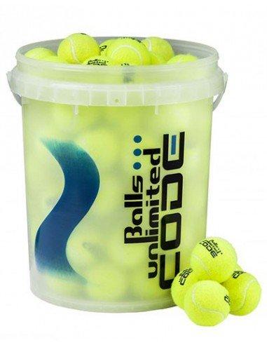 Balls Unlimited Code Blue 60 Bucket- Geel