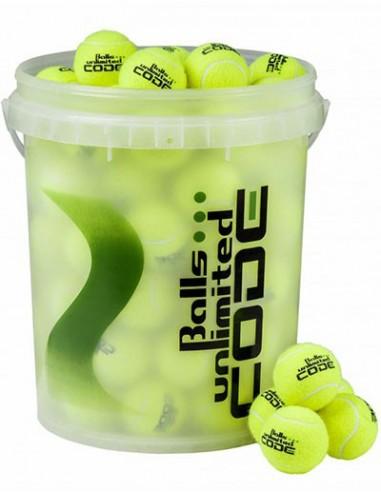 Balls Unlimited Code Green Geel Bucket (60stuks)