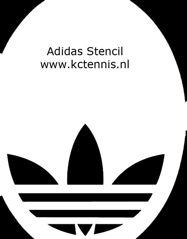 Stencil Adidas