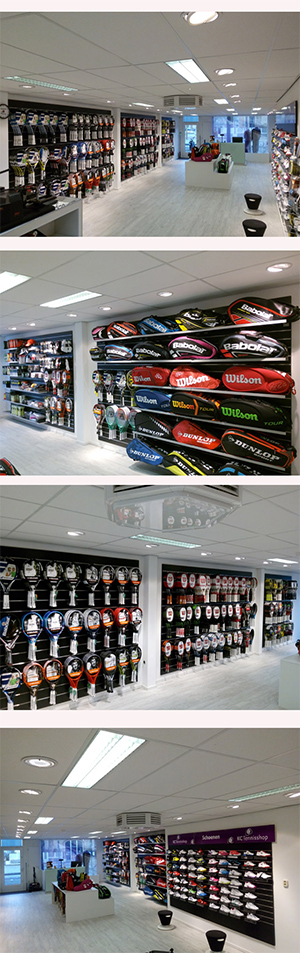 Foto's fysieke winkel