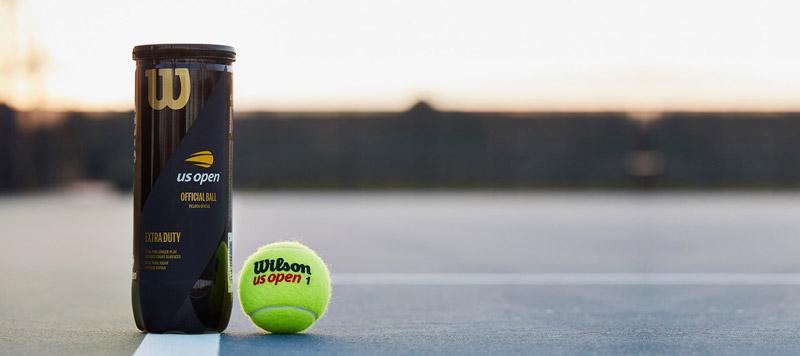 Wilson Us Open Tennisballen